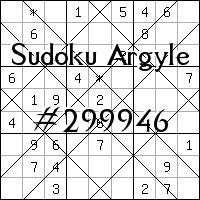 Argyle Sudoku №299946