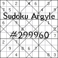 Argyle Sudoku №299960
