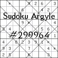Argyle Sudoku №299964