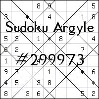 Argyle Sudoku №299973