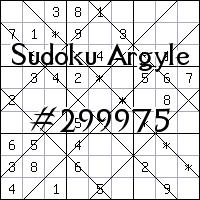 Argyle Sudoku №299975