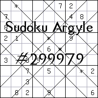 Argyle Sudoku №299979