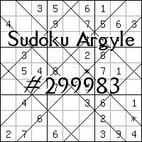Argyle Sudoku №299983