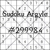 Argyle Sudoku №299984