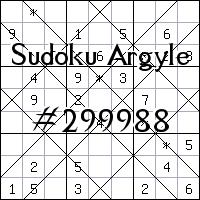 Argyle Sudoku №299988