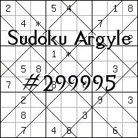 Argyle Sudoku №299995