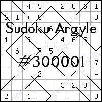 Argyle Sudoku №300001