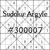 Argyle Sudoku №300007