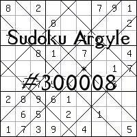 Argyle Sudoku №300008