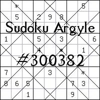 Argyle Sudoku №300382