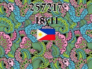 The Philippine puzzle №257217