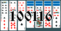 Solitaire №100116