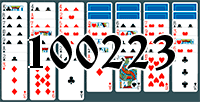 Solitaire №100223