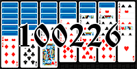 Solitaire №100226