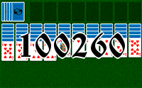 Solitaire №100260