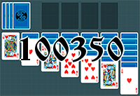 Solitaire №100350