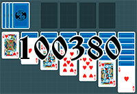 Solitaire №100380