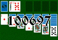 Solitaire №100697