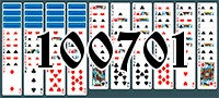 Solitaire №100701