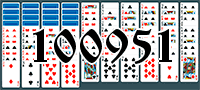 Solitaire №100951