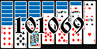 Solitaire №101069