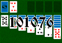 Solitaire №101076