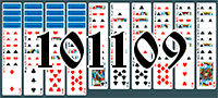 Solitaire №101109