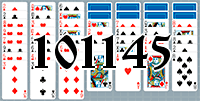 Solitaire №101145