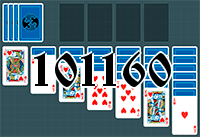 Solitaire №101160