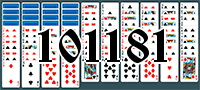 Solitaire №101181