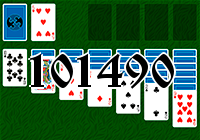 Solitaire №101490