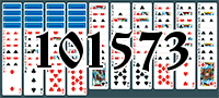 Solitaire №101573