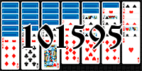 Solitaire №101595