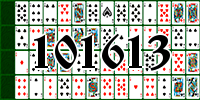 Solitaire №101613