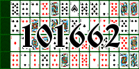 Solitaire №101662