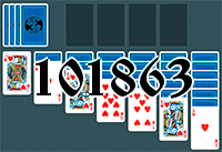 Solitaire №101863