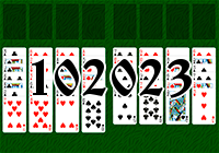 Solitaire №102023