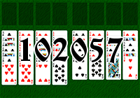 Solitaire №102057
