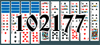 Solitaire №102177