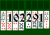 Solitaire №102291