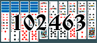 Solitaire №102463