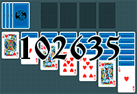 Solitaire №102635