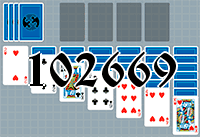 Solitaire №102669