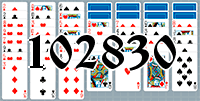 Solitaire №102830