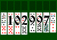 Solitaire №102997