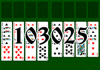 Solitaire №103025