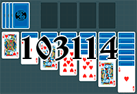 Solitaire №103114
