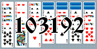 Solitaire №103192