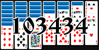 Solitaire №103434