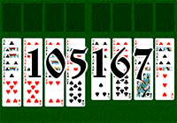 Solitaire №105167